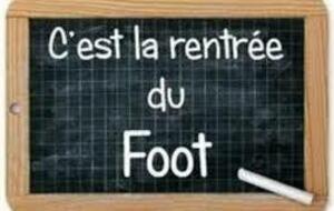 Rentrée de l'Ecole de Foot